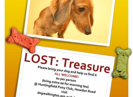 Doggy Treasure Hunt - Saturday 13 April