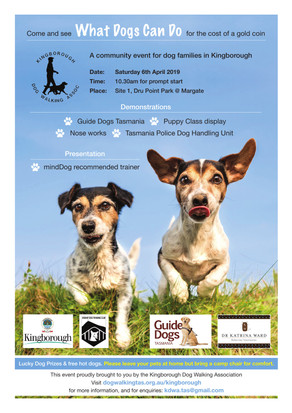 """""""What Dogs Can Do"""" - Community Event 6 April"""