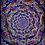 """Thumbnail: """"Eyes of Creator"""" - Satin Blacklight UV Tapestry. Glows under UV Light!"""
