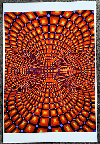 """TORUS OF LIFE"" - Signed/ Numbered Glossy Art-Print"