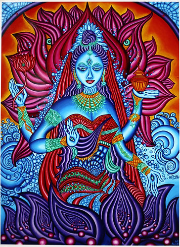 """LAKSHMI"" Original Signed and Numbered Glossy Photo Print"