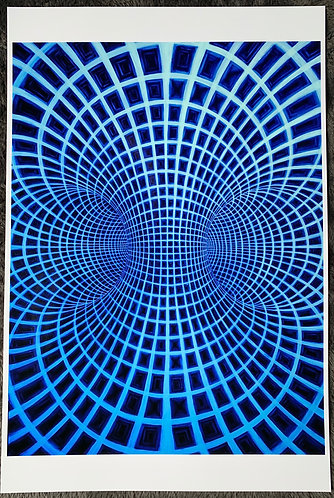 """Torus Of the Gods"""" - Signed/Numbered Metalic Photo Print 12X18"