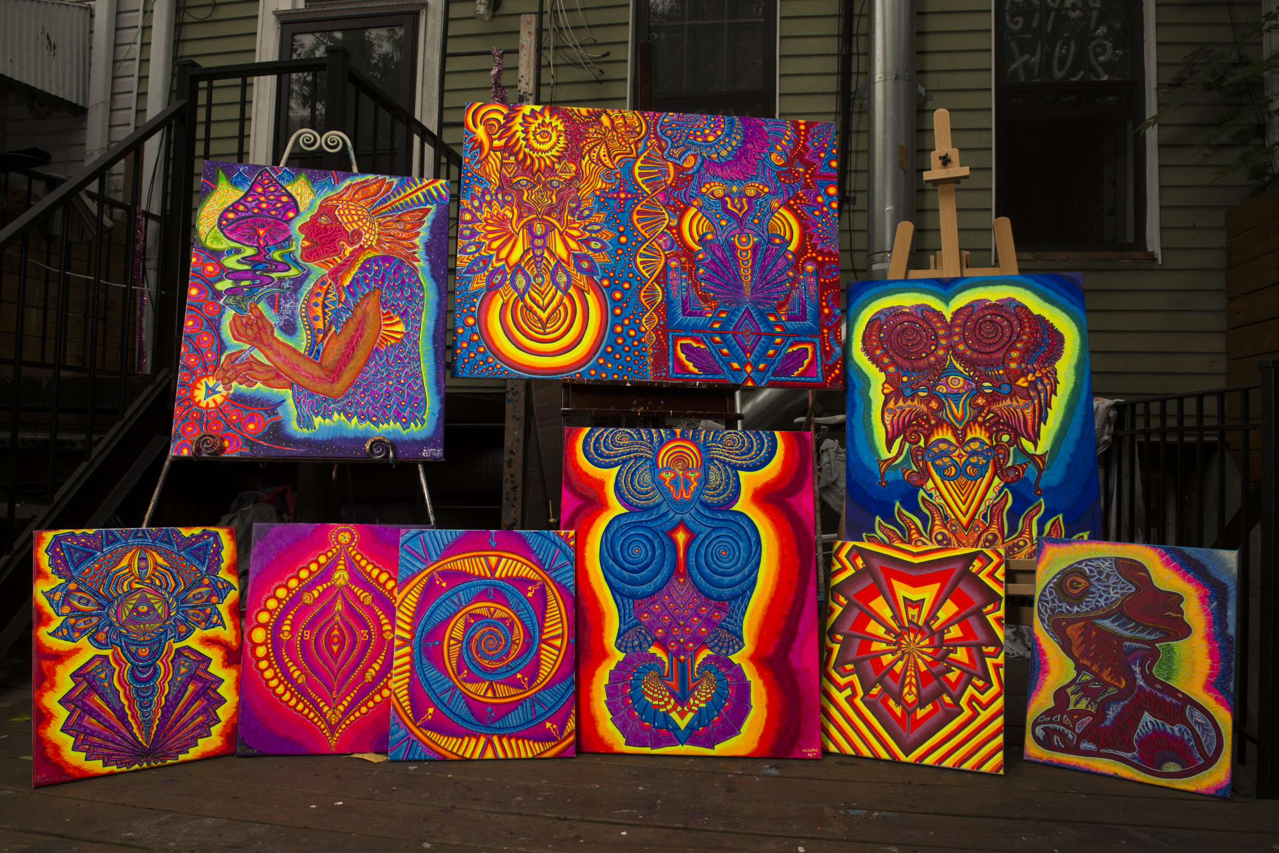 Aliume Artworks November 2017