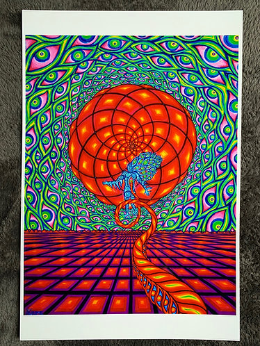 """ASTRAL JOURNEY"" - Signed/Numbered Metalic Photo Print 12X18"