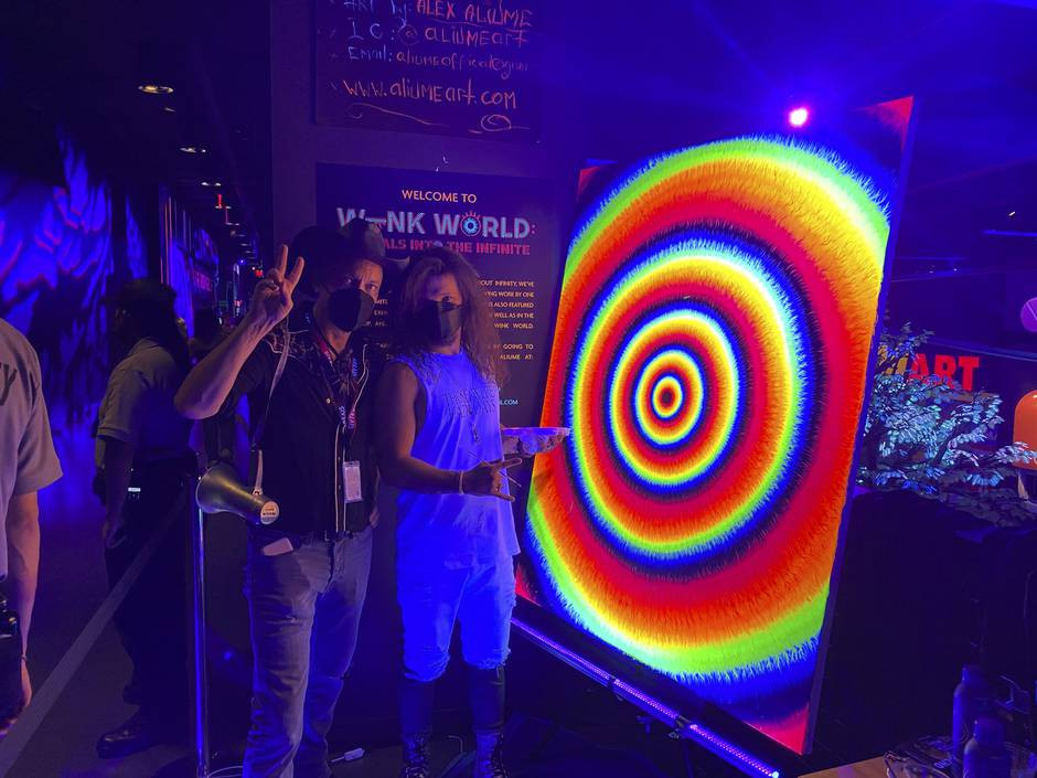 """On Saturday, May 1,  """"Wink World: Portals Into The Infinite"""", the first-of-its-kind immersive art..."""