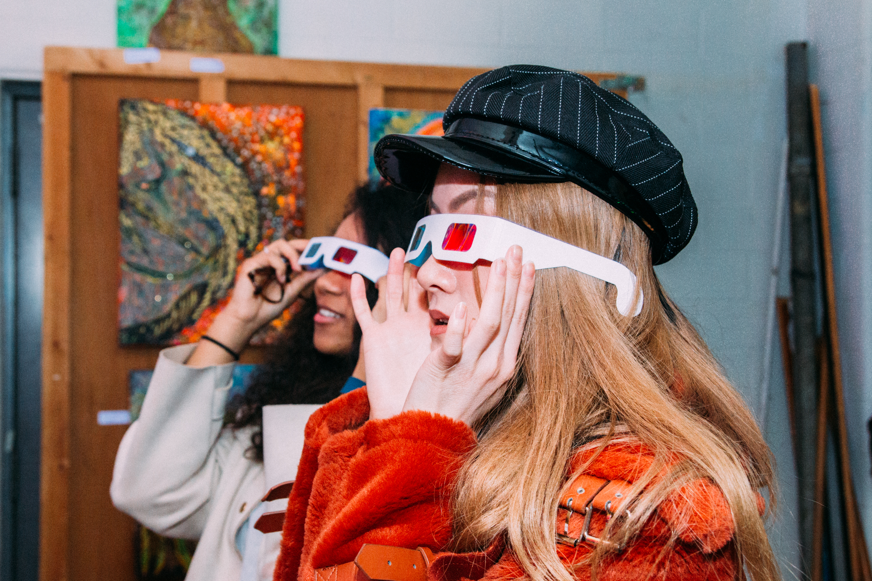 Alex Aliume Black Light 3D Exhibition