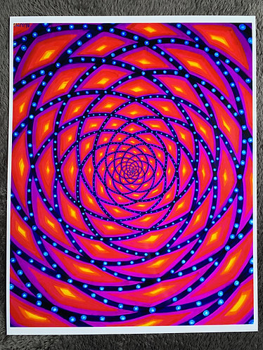 """PORTAL TO ANOTHER DIMENSION"" - Signed and Numbered Metalic Art Print 11X14"