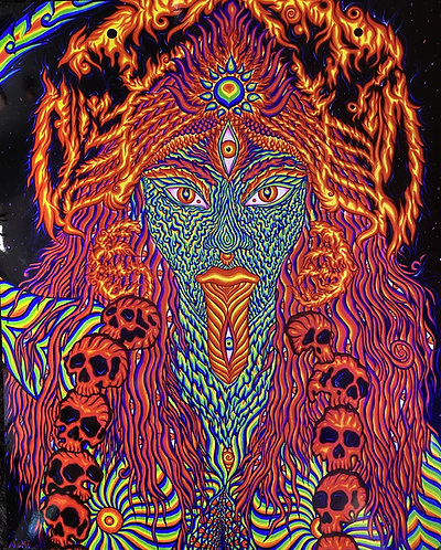 """""""KALI"""" - Signed Metallic Photo Art Print (Available in two sizes)"""