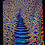 """Thumbnail: """"Stairs to the cosmic Heaven"""" - Satin Blacklight UV Tapestry. Glows in UV Light!"""