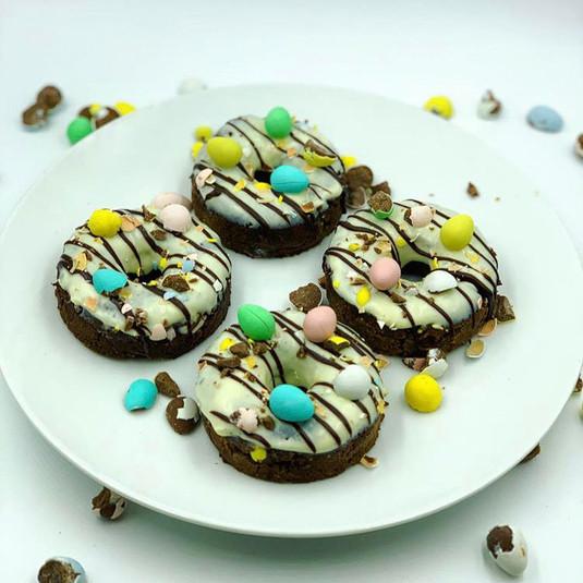 Mini Egg donuts for Easter!