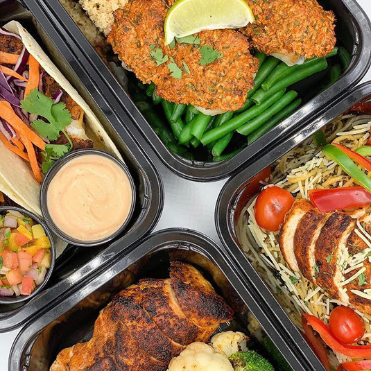 Choose from a variety of pre-built meals!