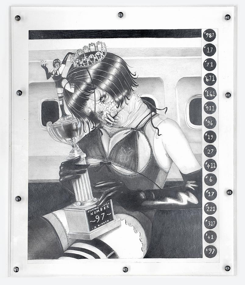 Everybody loves a winner drawing jenkin van zyl cabin pressure amanda wilkinson gallery