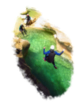 team building canyoning