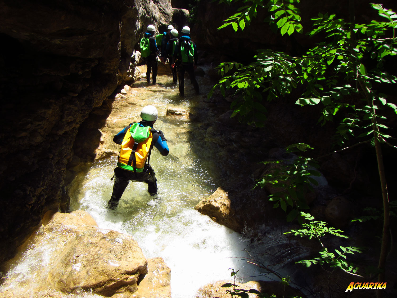 marche canyoning sierra de guara