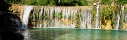 peonera-sierra de guara-barrage