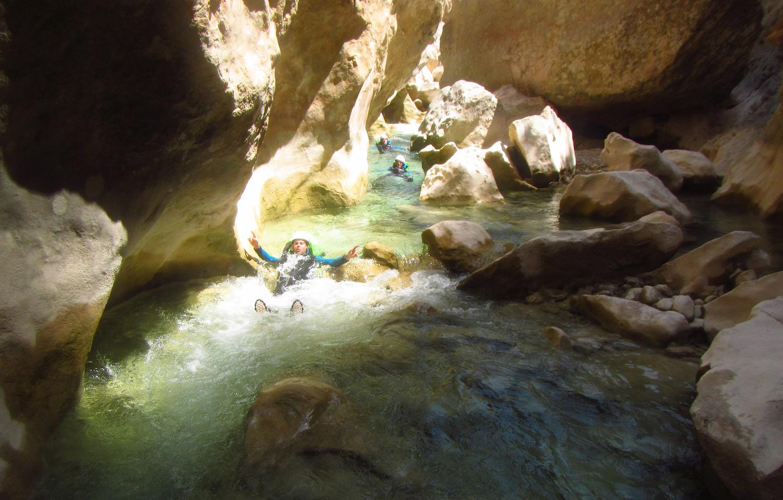 canyoning peonera