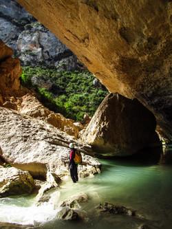 Rio Vero canyon - Aguarika