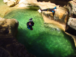 canyoning oscuros de balces