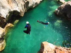 canyoning peonera- Aguarika