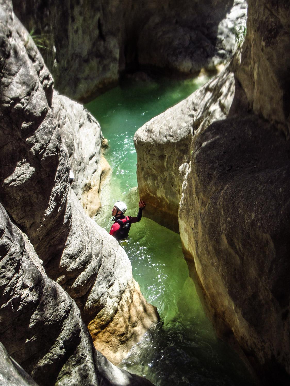 Canyoning Mascun - Aguarika