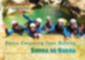 sejour canyoning team building