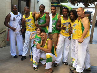 Capoeira at HKMT!