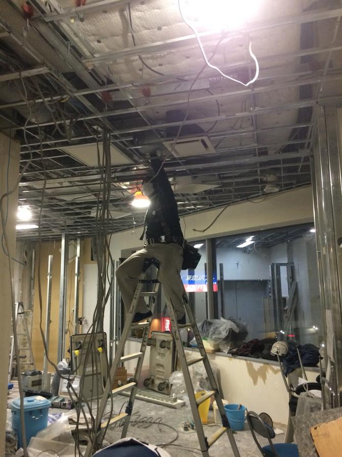 千葉市駅ビル内装工事