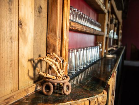 Bone Haus back bar