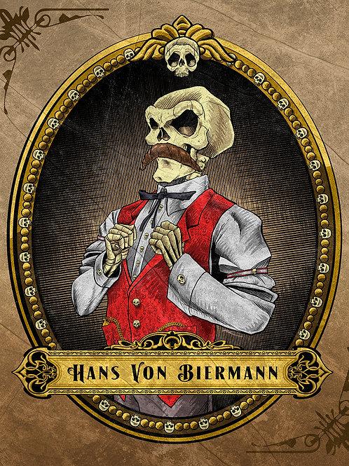 Hans Von Biermann Art Print
