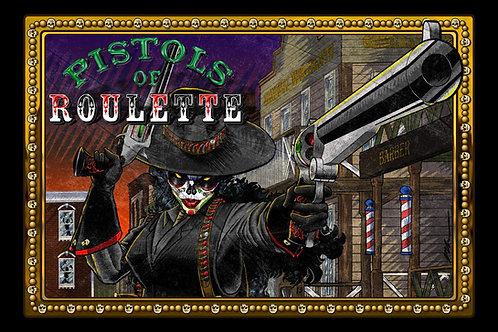 Pistols of Roulette Episode 1 Art Print