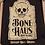 Thumbnail: Mens Distressed Tombstone T-Shirt
