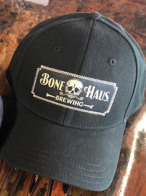 Curved Brim 6-panel Bone Haus Brewing Banner Logo Hat