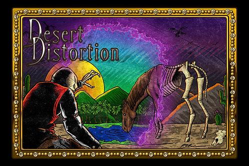 Desert Distortion Episode 1 Art Print