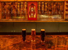 Craft Brews on the Bone Haus Copper Bar