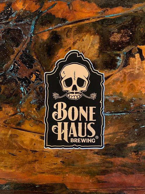 Bone Haus Tombstone Sticker