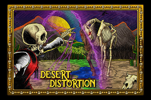 Desert Distortion Episode 2 Art Print