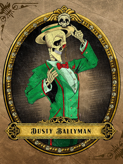 Dusty Ballyman Art Print