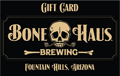 Bone Haus Brewing gift cards