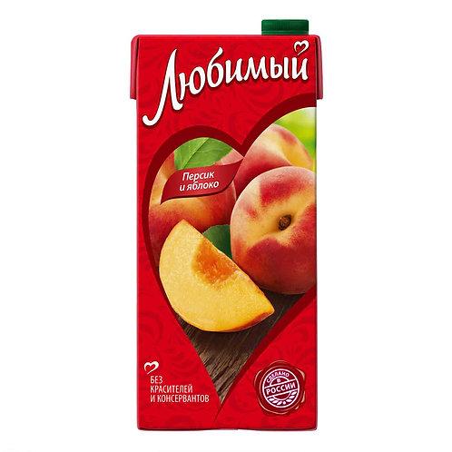 Сок/нектар Любимый персик 1л