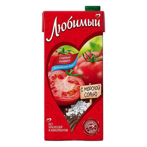 Сок/нектар Любимый томатный 1л