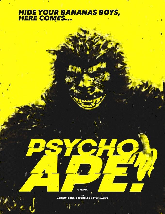Psycho Ape Kickstarter Greg Deliso