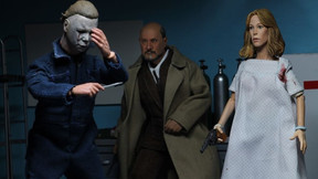 NECA Unveils 'Halloween II' Action Figures Of Michael, Laurie And Loomis