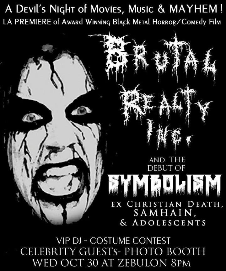 Brutal Realty, Inc. Los Angeles Premiere