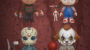 """Funko's New """"5 Star"""" Horror Toy Line Includes Freddy, Jason, Chucky And Pennywise"""