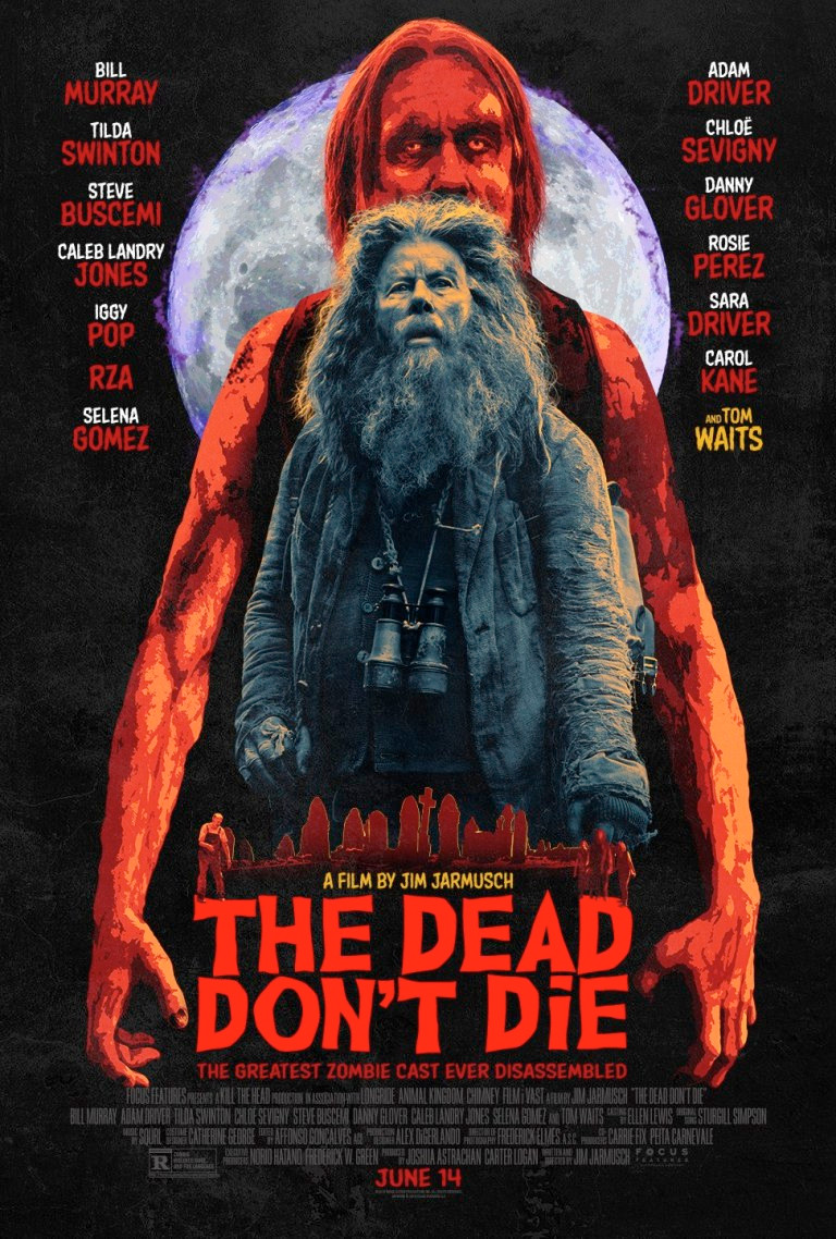 The Dead Don't Die Poster Tom Waits