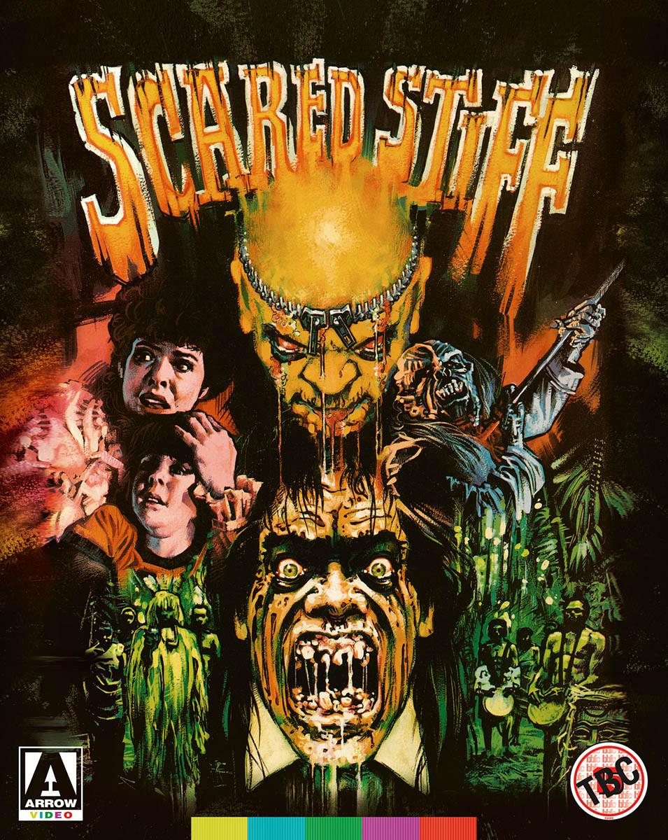 Scared Stiff Arrow Video Blu-ray