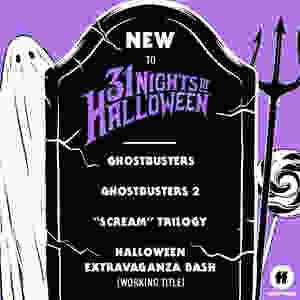31 Nights Halloween Freeform Ghostbusters Scream