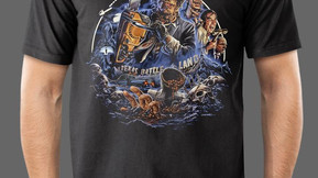 Texas Chainsaw Massacre 2 and 3 Merch From Fright-Rags