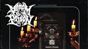 "Pitch Black North Teams with UK Thrash Band Venom Prison for ""Sadistic Rituals"" White Tea"