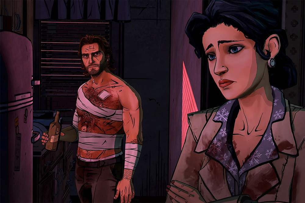 LCG Entertainment Acquires Telltale Games Wolf Among Us
